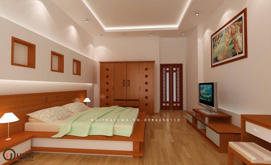 Mẫu 3 - Thiết kế phòng ngủ hợp mệnh cho người sinh năm 1981