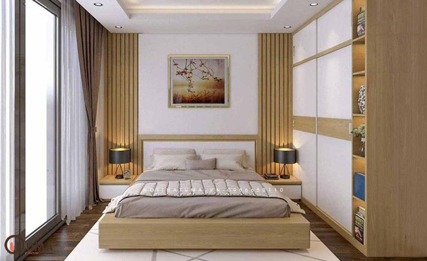 Mẫu 3 - Thiết kế phòng ngủ hợp mệnh cho người sinh năm 1984
