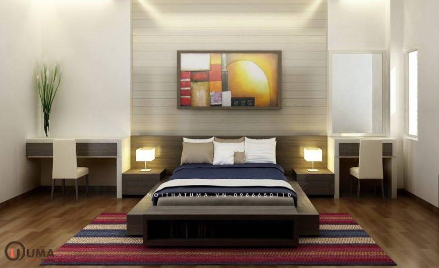 Mẫu 1 - Thiết kế phòng ngủ hợp mệnh cho người sinh năm 1984