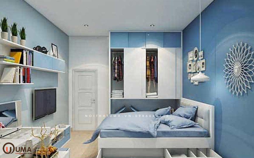 Mẫu 2 - Thiết kế phòng ngủ hợp mệnh cho người sinh năm 1992