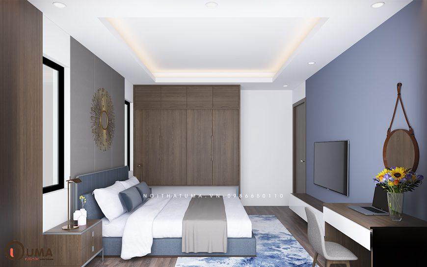 Mẫu 1 - Thiết kế phòng ngủ hợp mệnh cho người sinh năm 1992