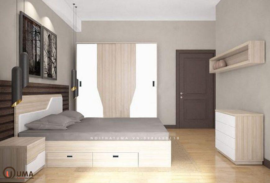 Mẫu 1 - Thiết kế phòng ngủ hợp mệnh cho người sinh năm 1997