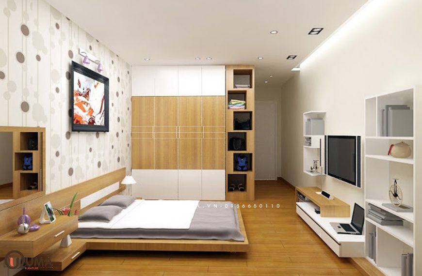 Mẫu 3 – Thiết kế phòng ngủ hợp mệnh cho người sinh năm 1990