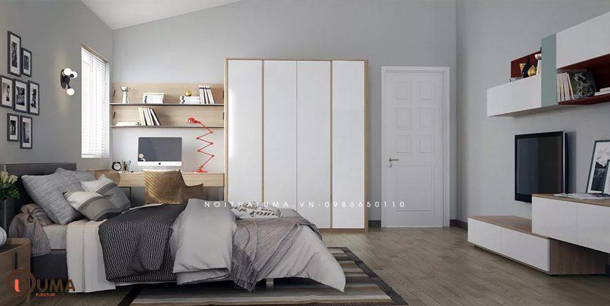 Mẫu 3 - Thiết kế phòng ngủ hợp mệnh cho người sinh năm 1996