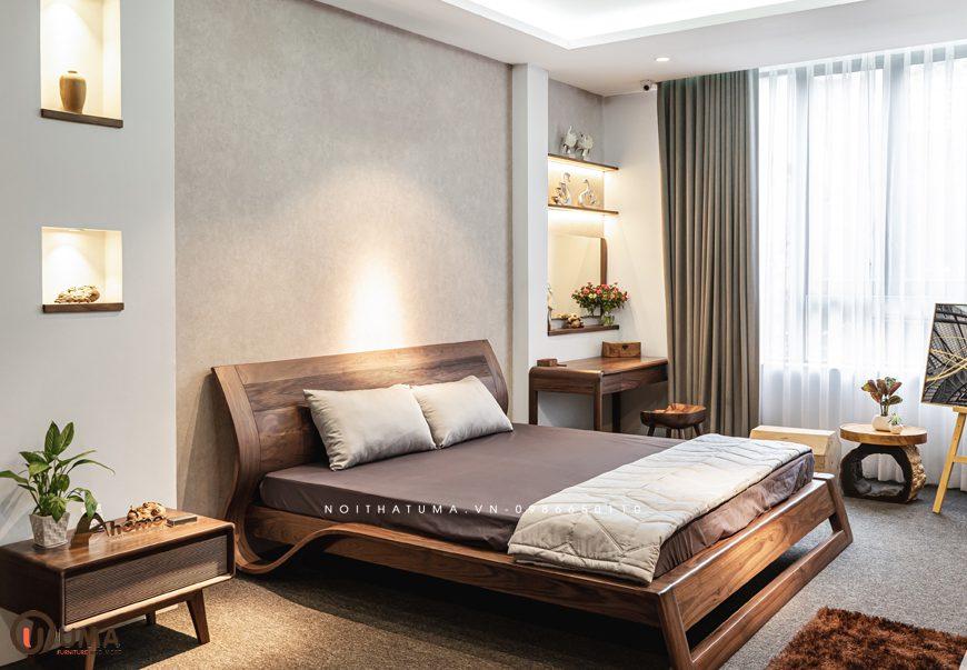 Mẫu 2 - Thiết kế phòng ngủ hợp mệnh cho người sinh năm 1976
