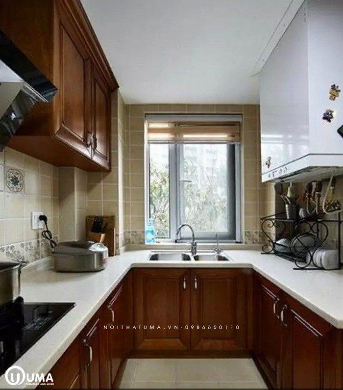 Phong cách thiết kế tủ bếp Art & Crafts