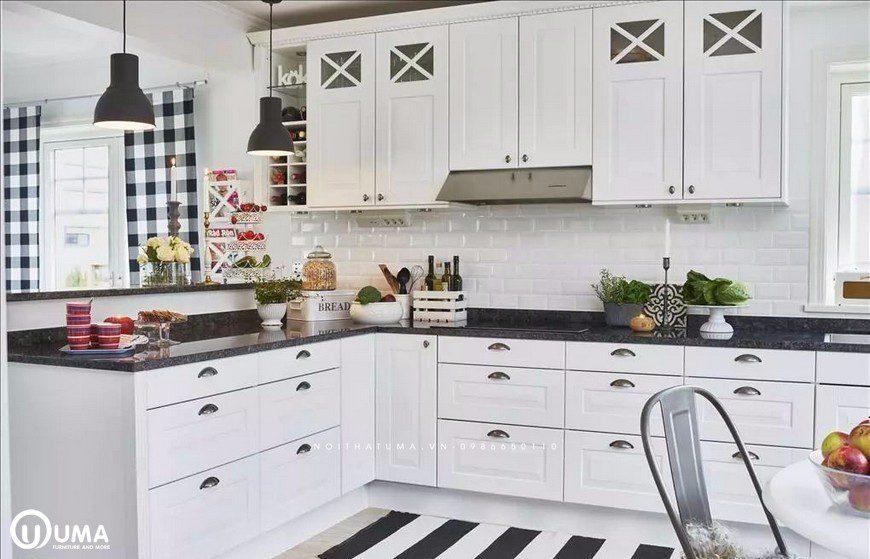Phong cách thiết kế tủ bếp Art Deco