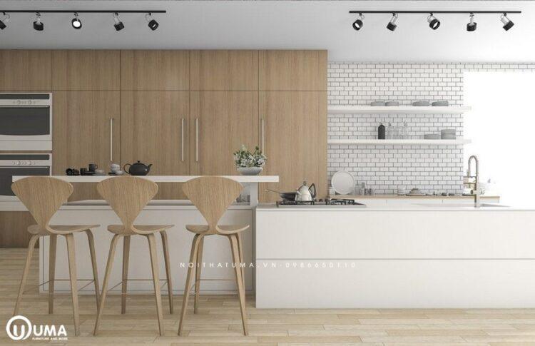 Phong cách thiết kế tủ bếp Bắc Âu (scandinavian)