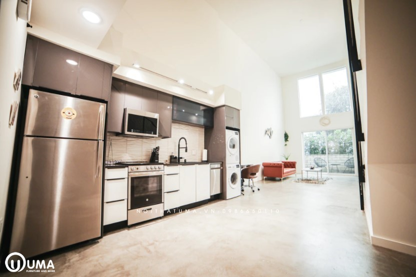 Phong cách thiết kế tủ bếp Hettich