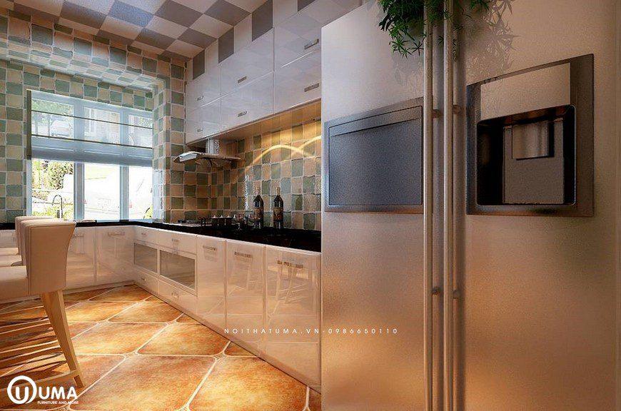 Phong cách thiết kế tủ bếp Retro