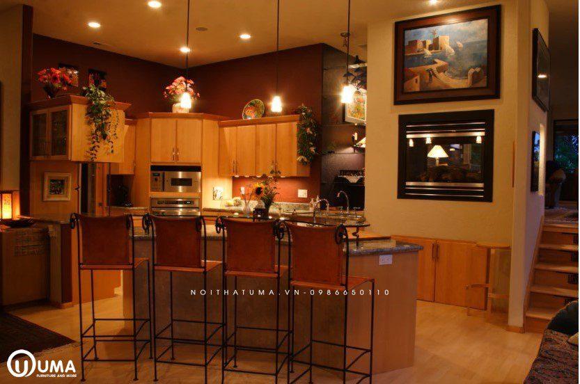 Phong cách thiết kế tủ bếp cổ điển (Classic)