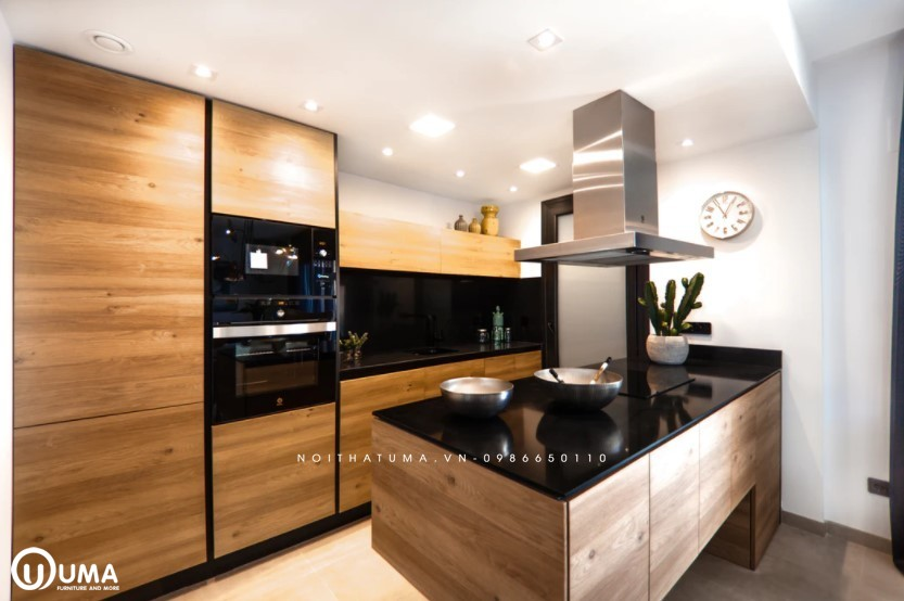 Phong cách thiết kế tủ bếp hiện đại