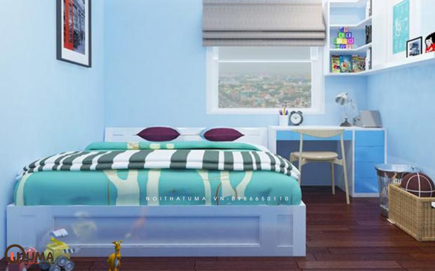 Phòng ngủ hợp mệnh gia chủ sinh năm 2027 số 3