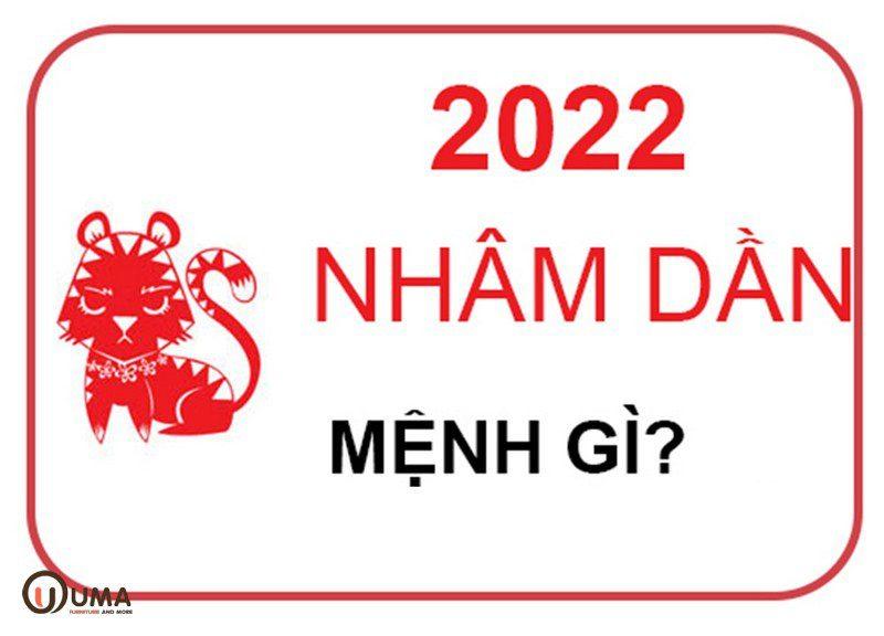 Năm 2022 mệnh gì?