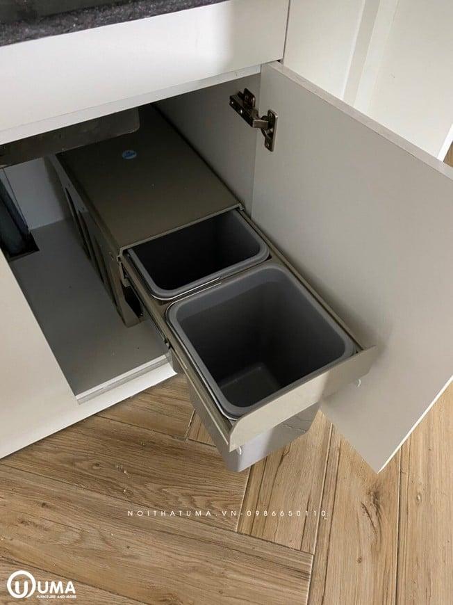 Thùng rác tủ bếp
