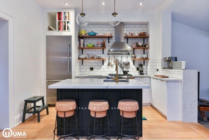 Tủ bếp quầy bar
