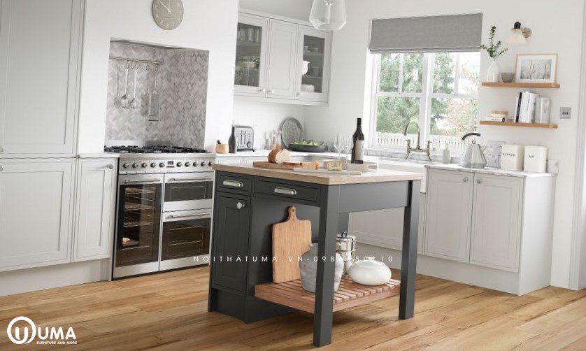 Tủ bếp gỗ công nghiệp UMA