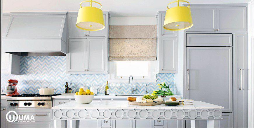 Phong cách thiết kế tủ bếp Funky