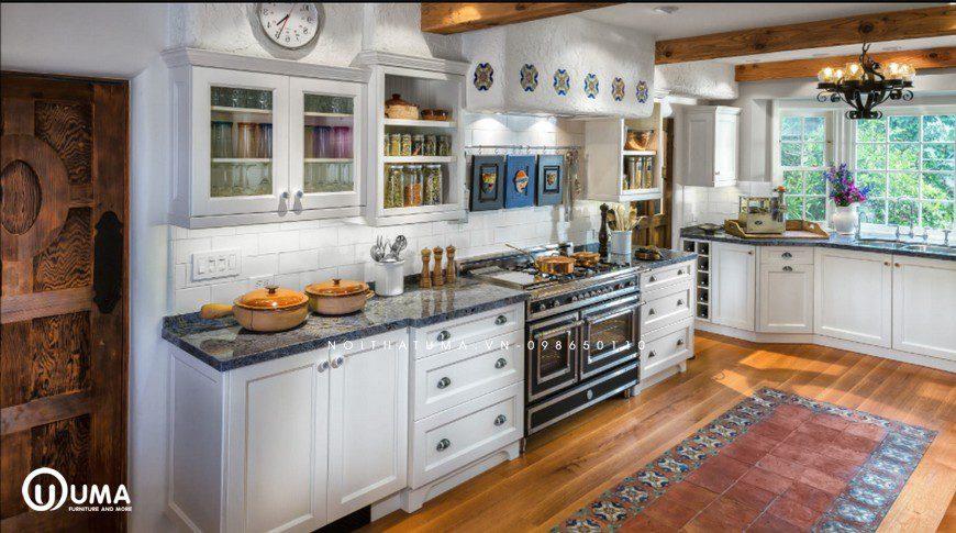 Phong cách thiết kế tủ bếp Hollywood