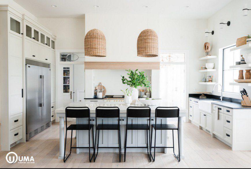 Phong cách thiết kế tủ bếp Organic