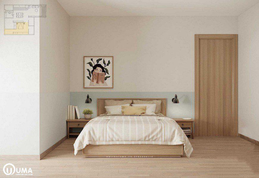 Phòng ngủ chính là không gian nghỉ ngơi của gia chủ, luôn cần sự yên tĩnh, thoải mãi và ấm cúng