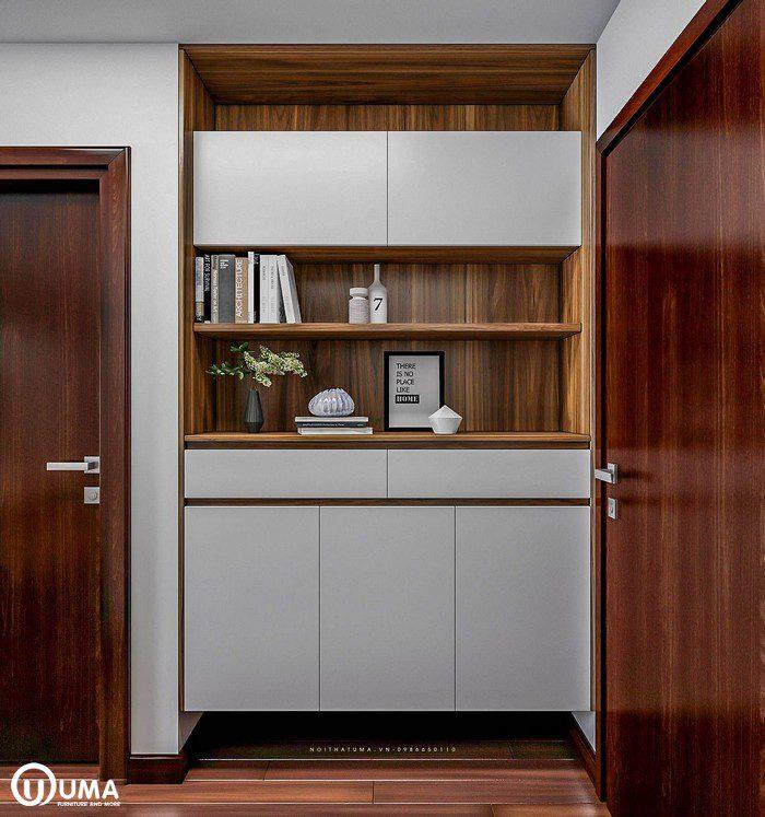 Thiết kế nội thất chung cư Mipec tại Long Biên