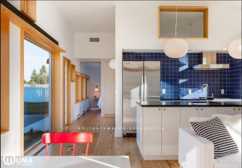 Tủ bếp nhựa Picomat thích hợp cho không gian căn bếp rộng lớn thỏa thích nấu nướng ( nguồn internet )