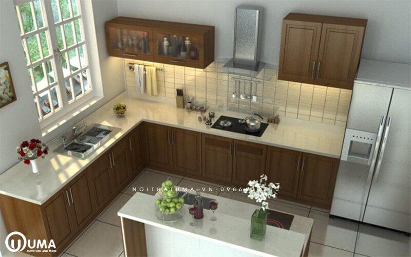Những điều kiêng kỵ cần biết khi thiết kế tủ bếp cho nhà hướng Nam