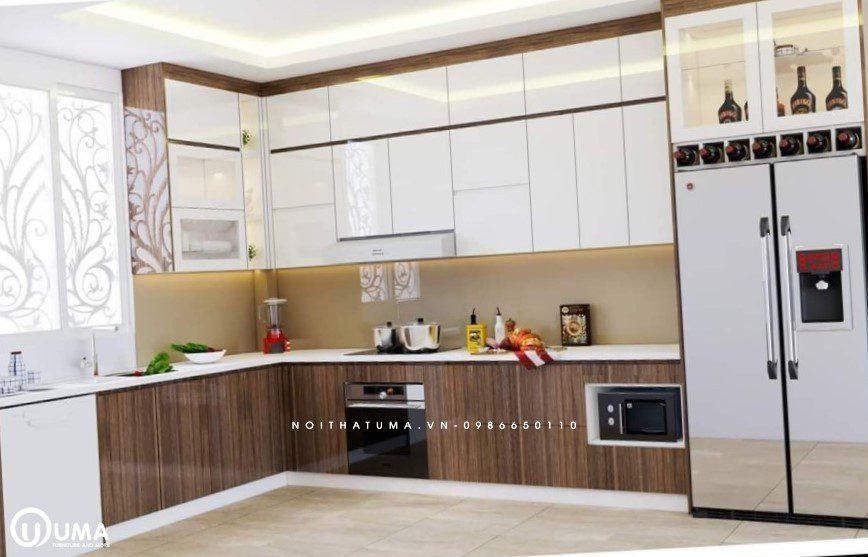 Phong cách thiết kế tủ bếp đương đại (Contemporary