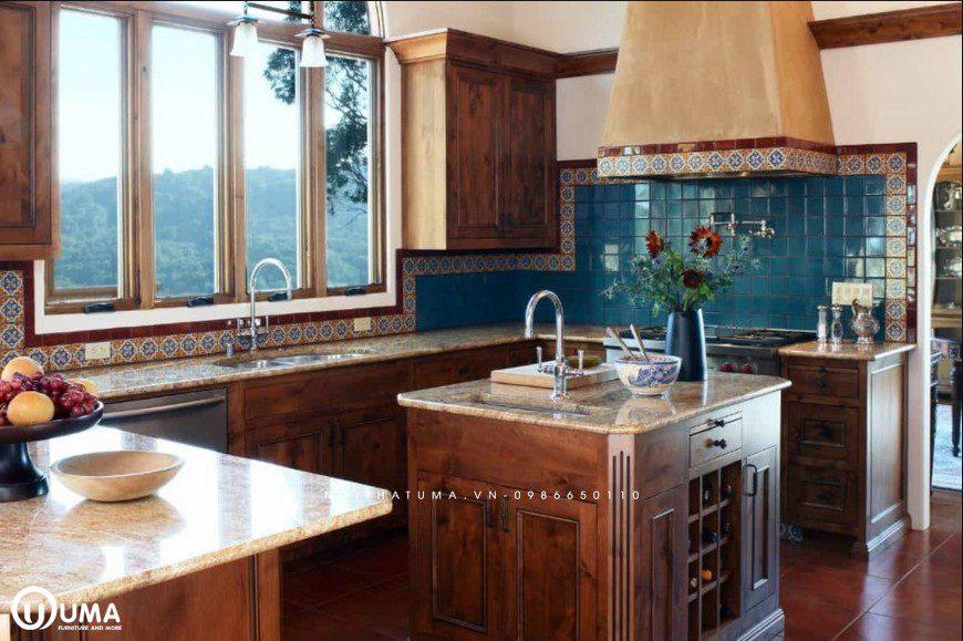 Phong cách thiết kế tủ bếp Renaissance