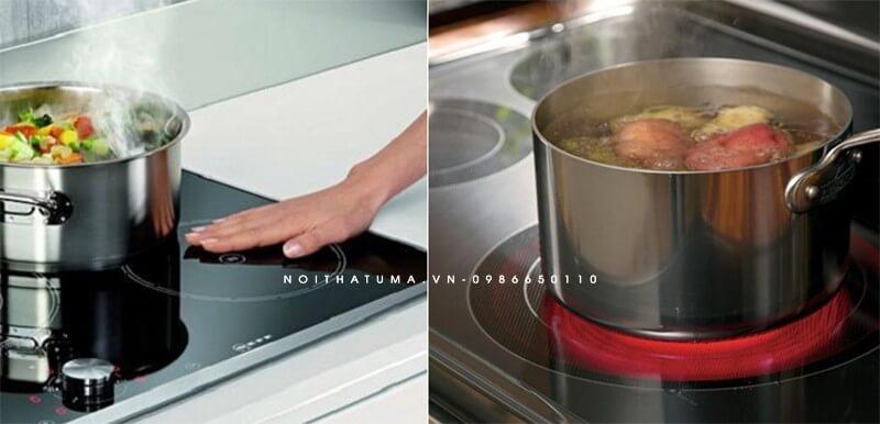 Tính năng vượt trội của bếp từ