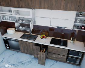 Tủ bếp Laminate - ULA 10