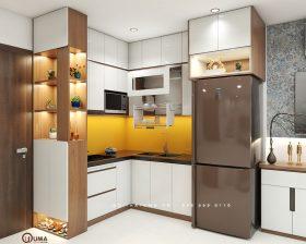 Tủ bếp Laminate - ULA 11
