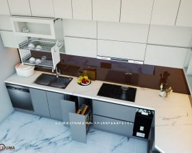 Tủ bếp Laminate - ULA 12