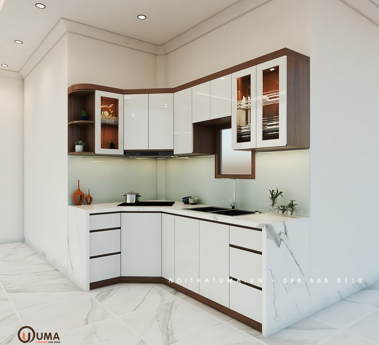 Tủ bếp Laminate - ULA 09