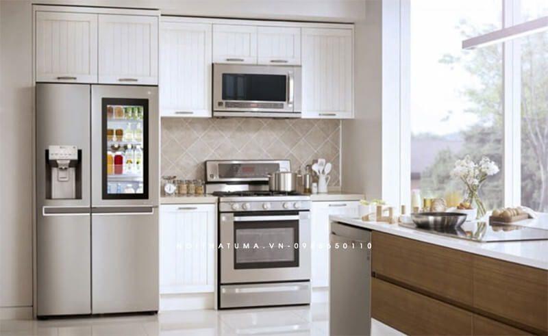 Tủ lạnh là vận dụng không thể thiếu trong mỗi không gian phòng bếp
