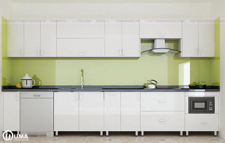 Tủ bếp thùng inox 304 chữ I
