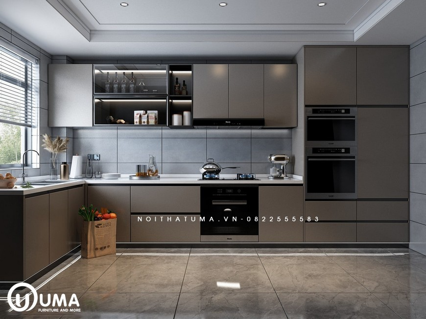 Tủ bếp Laminate – ULA 15, Tủ bếp Laminate, ,