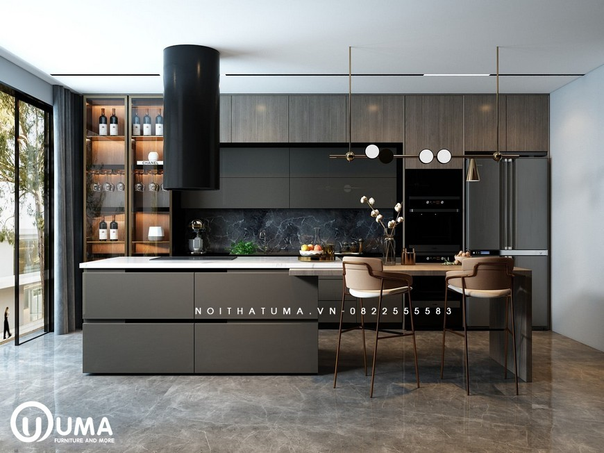 Tủ bếp Laminate – ULA 16, Tủ bếp Laminate, ,
