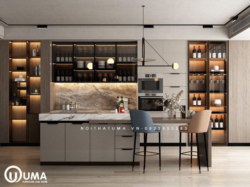 Tủ bếp Laminate – ULA 20, Tủ bếp Laminate, ,