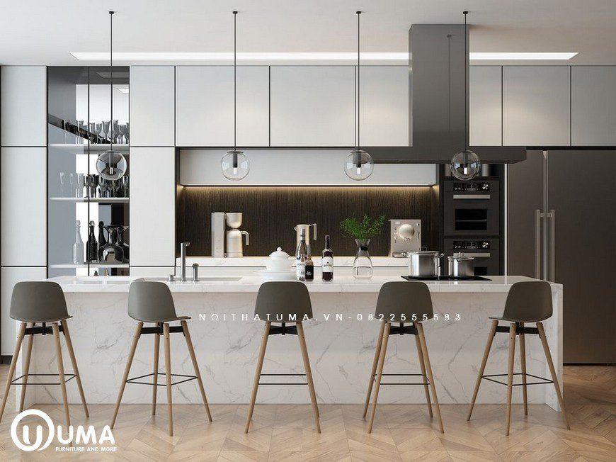 Tủ bếp Melamine – UML 28, Tủ Bếp Melamine, ,