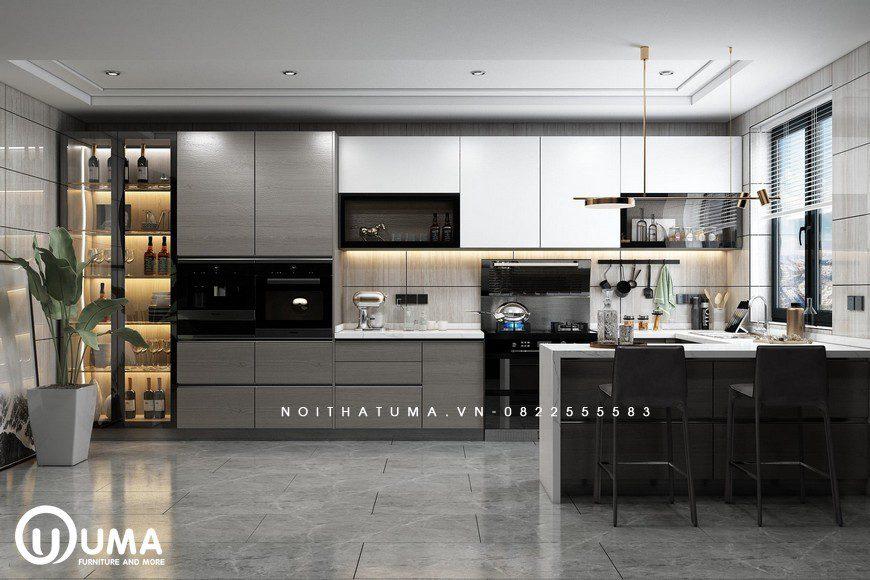 Tủ bếp Melamine – UML 37, Tủ bếp Melamine, ,