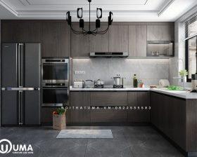 Tủ bếp Acrylic – UAC 43