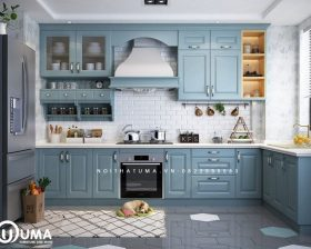 Tủ bếp Acrylic – UAC 48
