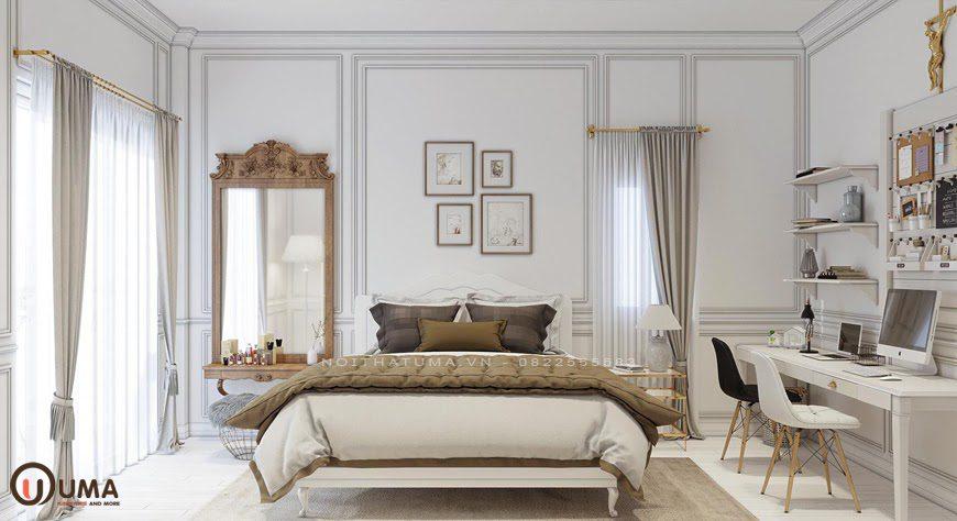 Mẫu phòng ngủ mang phong cách Scandinavian
