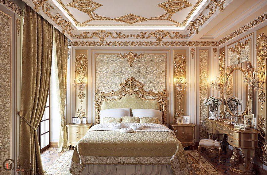 Mẫu phòng ngủ cho căn hộ chung cư cổ điển
