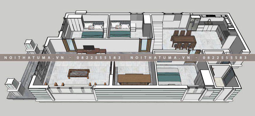 Nhà cấp 4 mái thái 1 tầng 9m x 20m tại Hòa Bình, Nhà cấp 4 mái thái 1 tầng 9m x 20m, , Nhà cấp 4 mái thái, Nhà Cấp 4