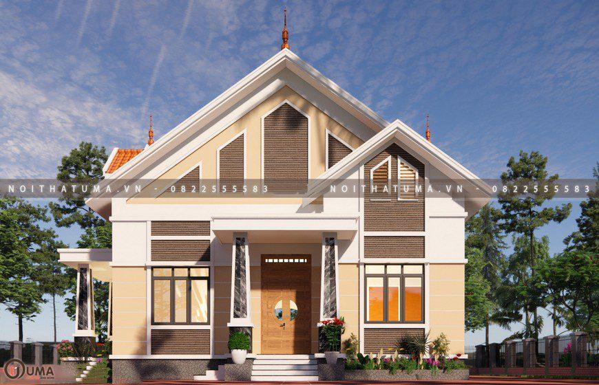 Nhà cấp 4 mái thái 1 tầng 4 phòng ngủ, bếp và WC tách biệt tại Lào Cai, , , Nhà Cấp 4, Nhà cấp 4 mái thái