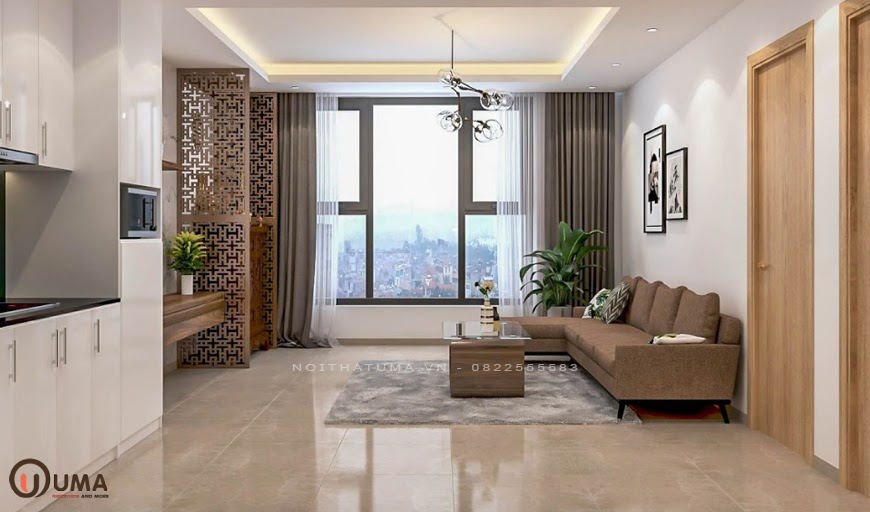 Mẫu nội thất chung cư mang phong cách tối giản nhất