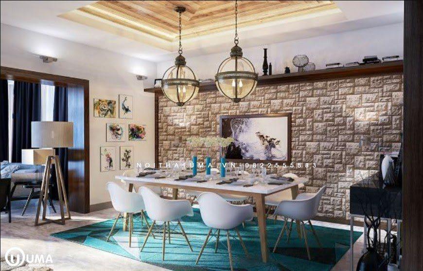 Căn bếp được sử dụng phong cách vintage hoàn hảo